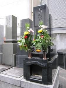 墓石の建立(例)