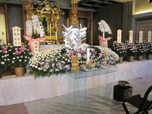 お寺で家族葬