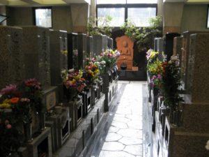 新室内墓地