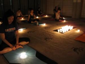 キャンドル☆寺yoga