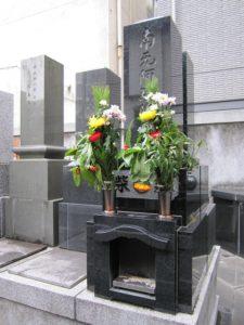 墓石の一例